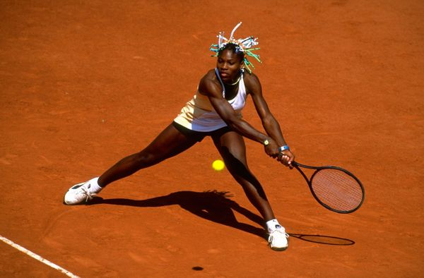 Serena Williams at French Open in 1998.