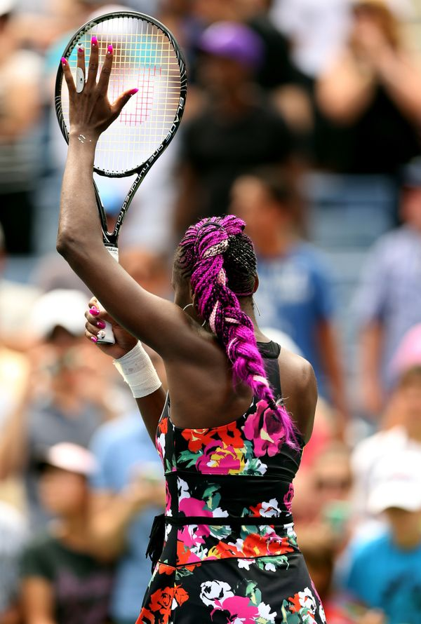 Venus Williams at the US Open in 2013.