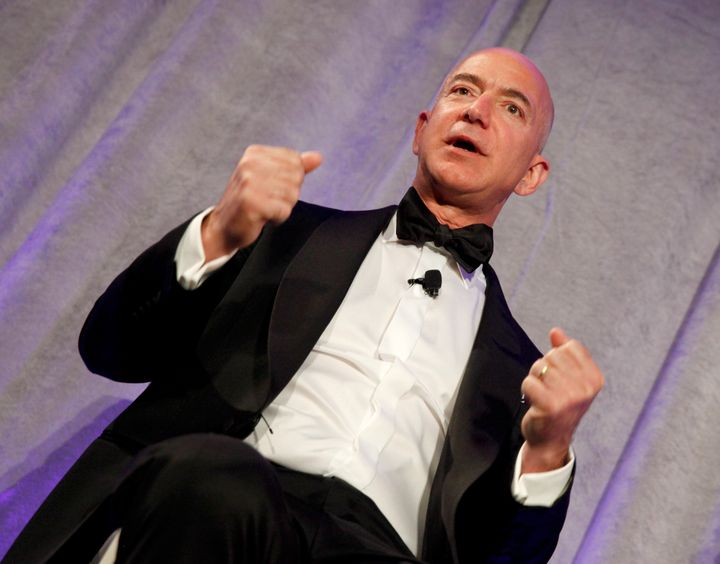 Amazon founder and CEO Jeff Bezos said Monday thathe doesn't recognize the workplace described in the Times.