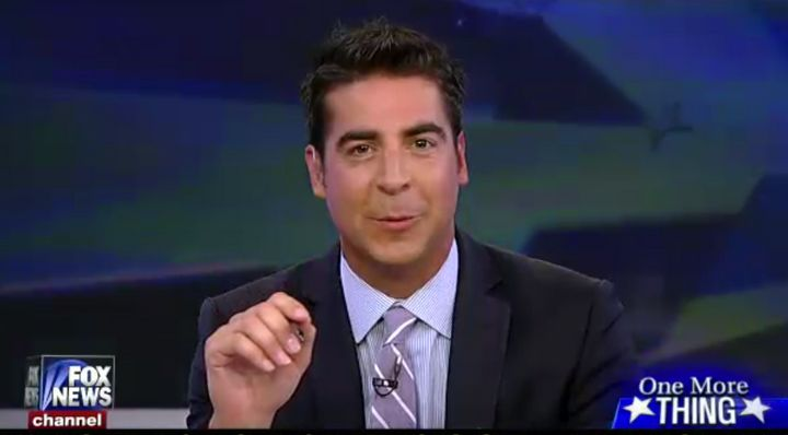 """""""The Five"""" guest co-host Jesse Watters suggested undocumented immigrants earn amnesty by building Donald Trump's wall on the"""