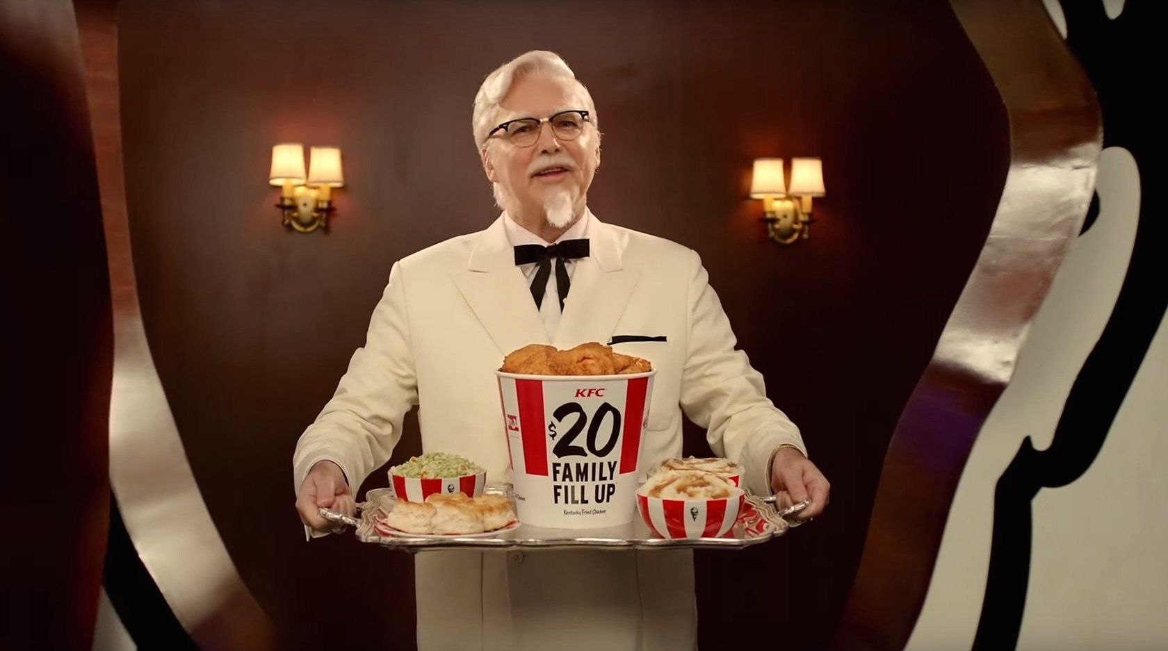 Norm Macdonald as Col. Sanders.