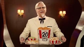 Norm Macdonald as Col. Sanders.