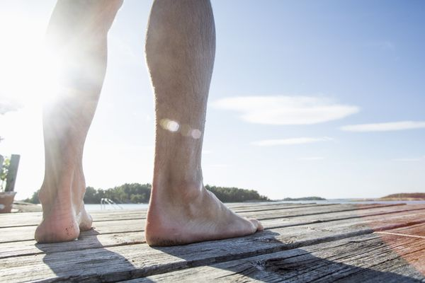 Walking barefoot might be one of the great joys of summer, but it can also put you at an increased risk of contracting viruse