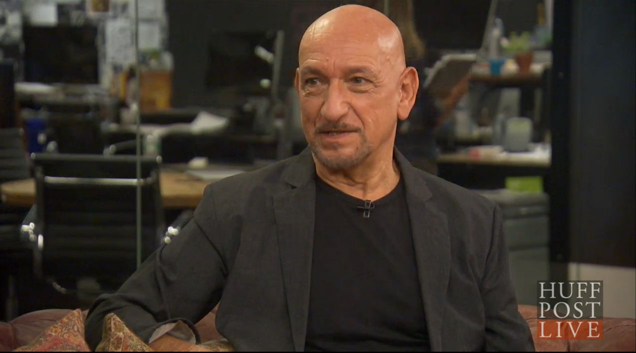 Sir Ben Kingsley on HuffPost Live