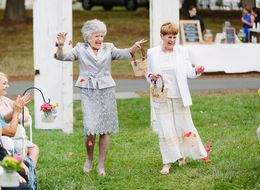 These Flower Girl Grandmas Were The Life Of The Wedding Party