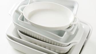 Variety of baking dishes