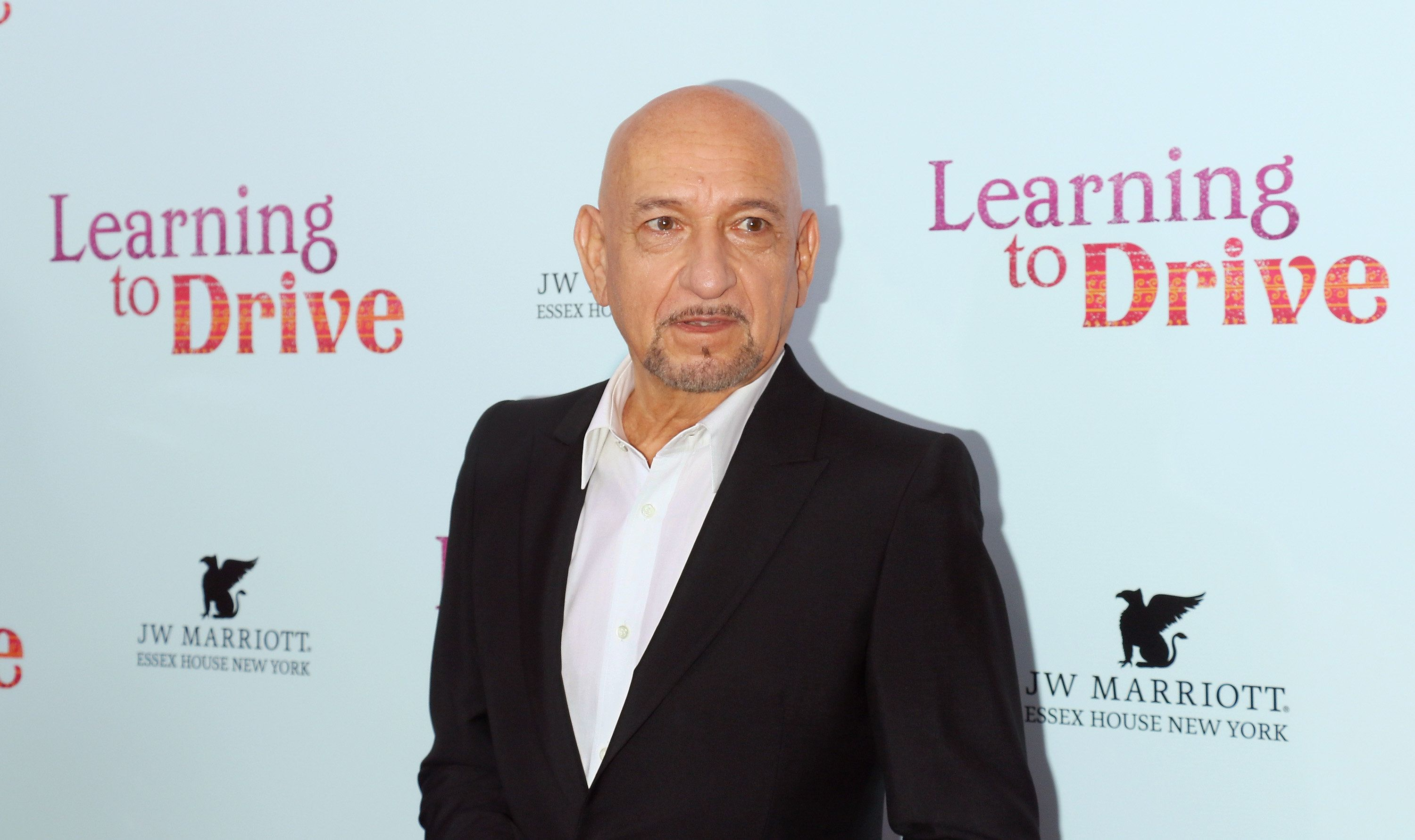 NEW YORK, NY - AUGUST 17:  Actor Sir Ben Kingsley attends the 'Learning To Drive' New York premiere at The Paris Theatre on August 17, 2015 in New York City.  (Photo by Jim Spellman/WireImage)