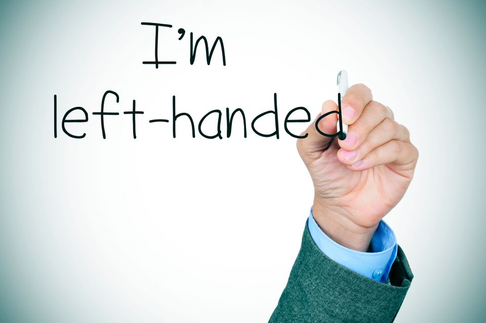 What Being Left Handed Says About Your Personality Huffpost Life