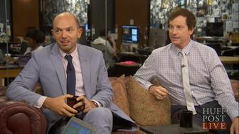 Paul Scheer and Rob Huebel appear on HuffPost Live.