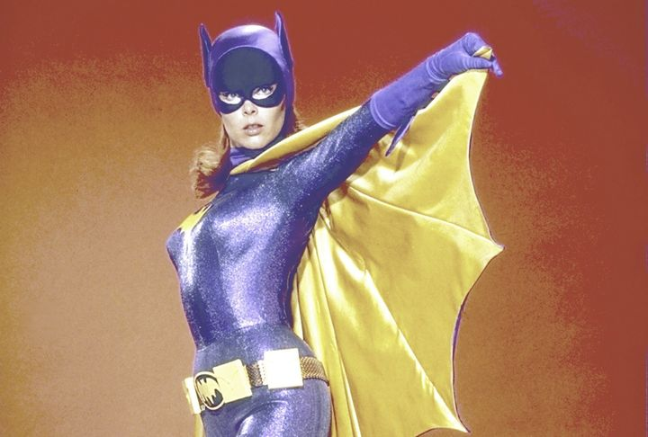 This September 1967 photograph shows Yvonne Craig as Batgirl. Craig died Monday at the age of 78.
