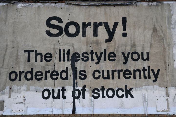 Banksy in London.