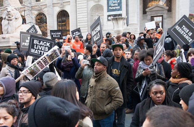 Protests against failure to indictDarren Wilson, the policeman whokilledMike Brown...