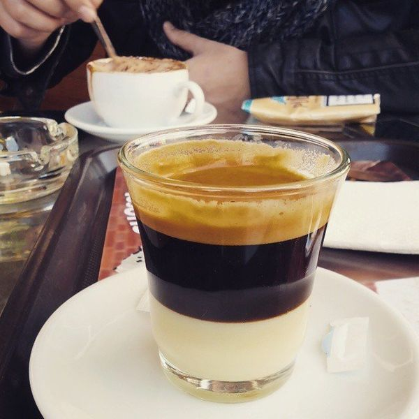 """This popular Spanish coffee is for <a href=""""http://whatshouldieatforbreakfasttoday.com/post/68882460125/cafe-bombon"""">those wh"""