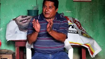 """<p><span style=""""background-color: #ffffff;"""">Community leader and political activist Miguel &Aacute;ngel Jim&eacute;nez Blanco spoke to voters in small towns to collect testimonies of alleged vote-buying and coercion.</span></p> <p>&nbsp;</p>"""