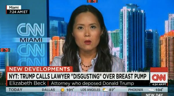 When a lawyer facing Trump in 2011 asked for a break to pump breastmilk for her infant daughter, The Donald reacted very poor