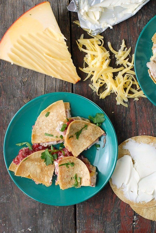 """<strong>Get the <a href=""""http://boulderlocavore.com/turkey-cranberry-chipotle-quesadillas/"""" target=""""_blank"""">Turkey Cranberry-"""