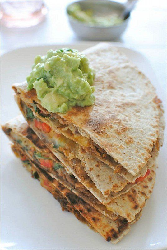 """<strong>Get the <a href=""""http://bevcooks.com/2013/02/slow-cooker-chipotle-steak-quesadillas/"""" target=""""_blank"""">Slow Cooker Chi"""