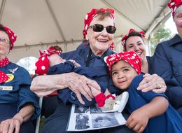 More Than 1,000 Rosie The Riveter Look-Alikes Attempt To Break World Record