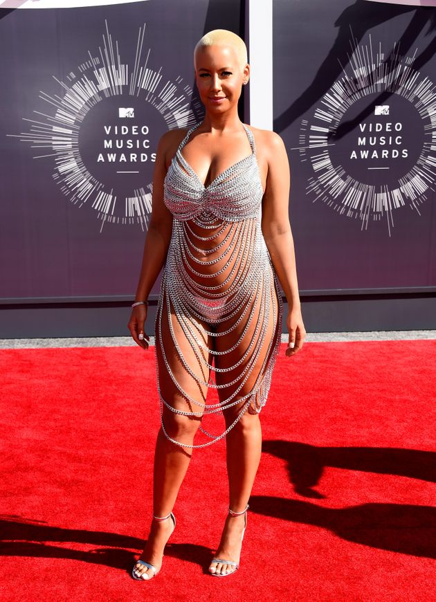 Amber Rose tại lễ trao giải MTV Video Music Awards 2014.