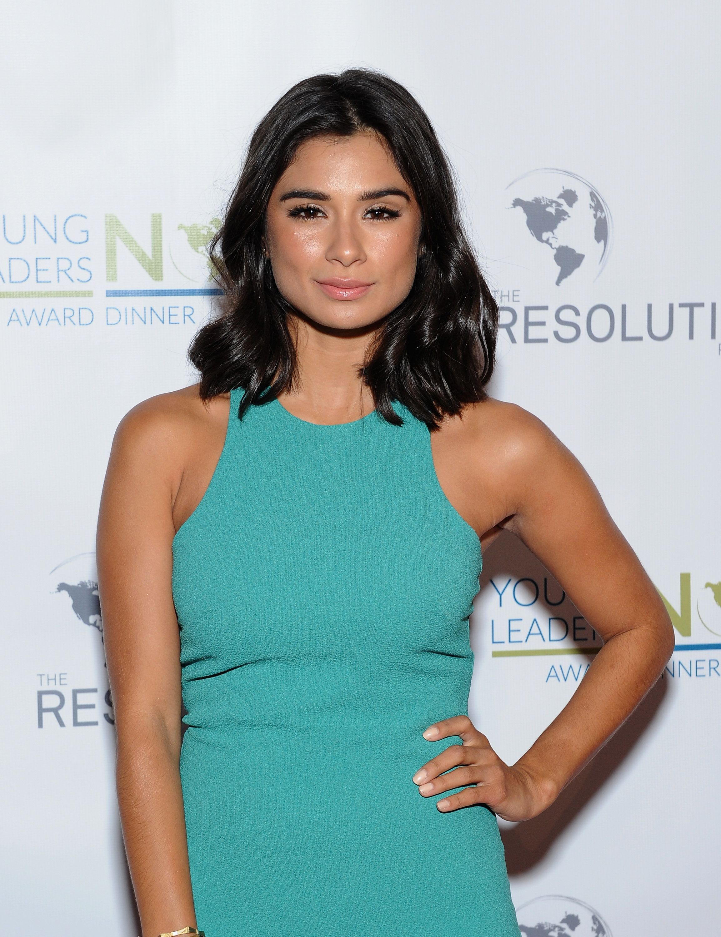 NEW YORK, NY - MAY 12:  Actress Diane Guerrero attends The Resolution Project Young Leaders Now award dinner 2015 on May 12, 2015 in New York City.  (Photo by Andrew Toth/Getty Images for The Resolution Project)
