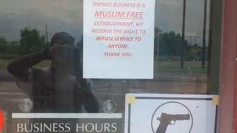Muslim-free gun store