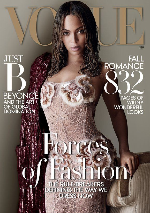 Beyoncé Doesn't Say One Word In The Vogue September