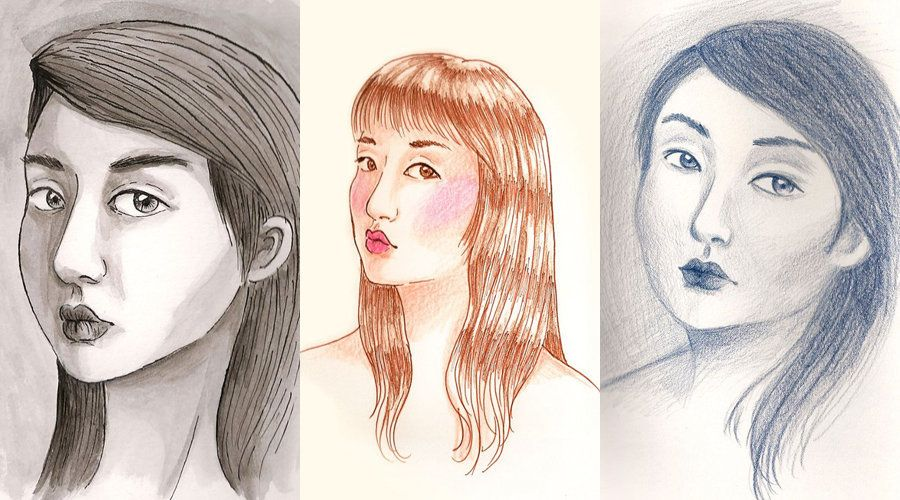 What I Learned From Drawing My Face Over And Over   HuffPost