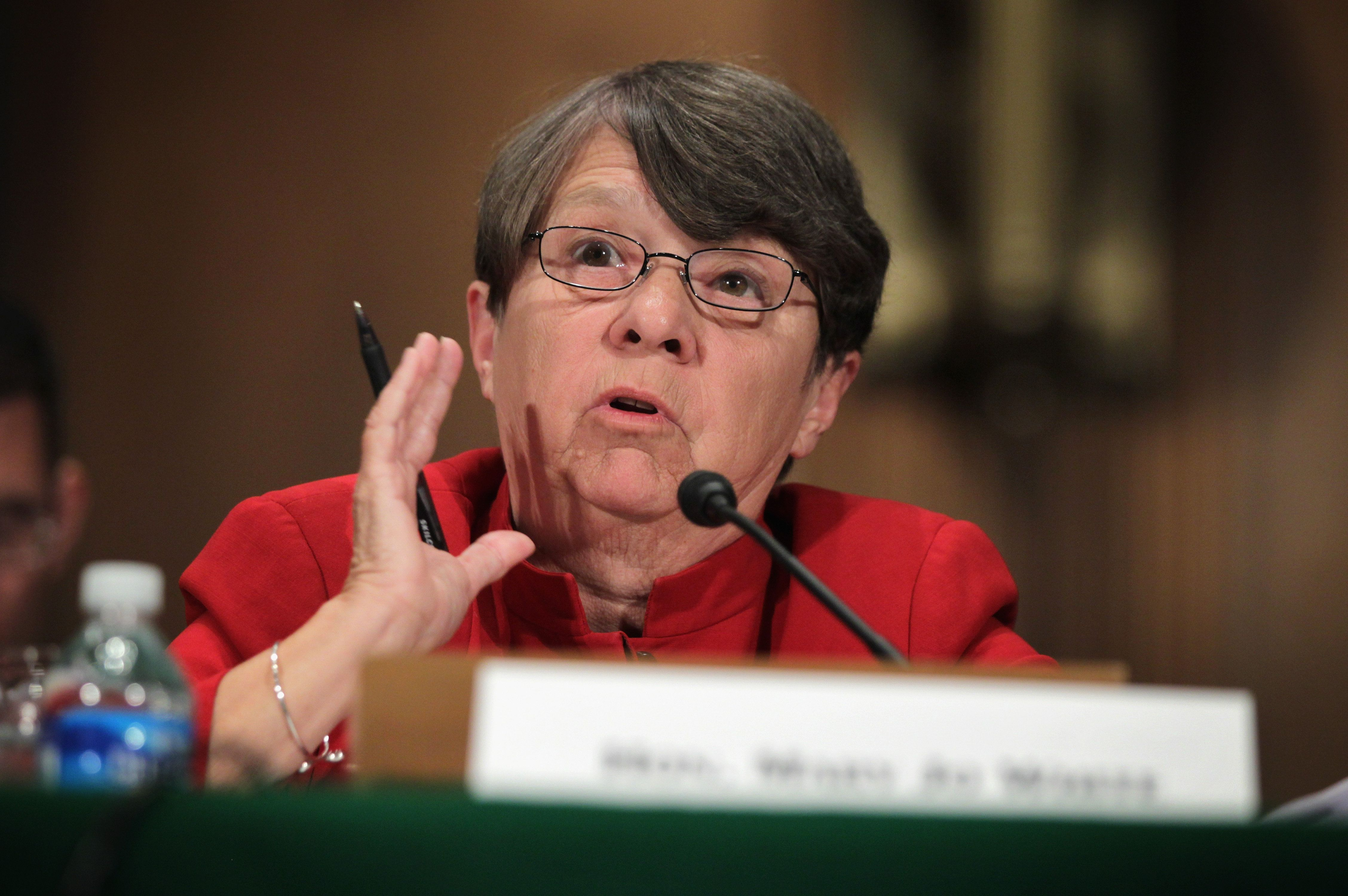 <p>SEC Chairwoman Mary Jo White.</p>
