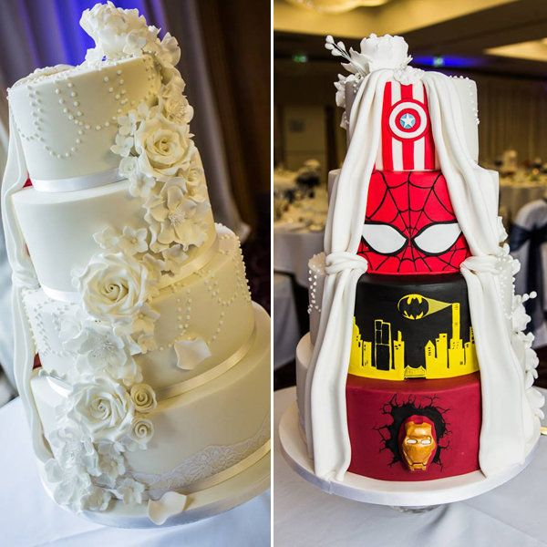 This supremely awesome wedding cake will make you do a double take credit a junglespirit Gallery