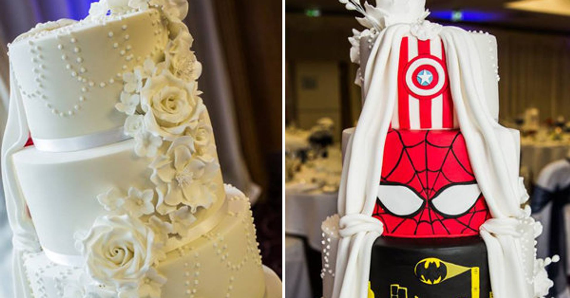 This Supremely Awesome Wedding Cake Will Make You Do A