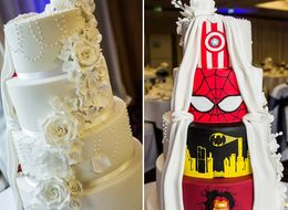 This Supremely Awesome Wedding Cake Will Make You Do A Double Take