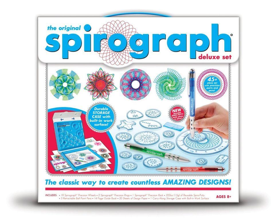 "Buy <a href=""http://www.amazon.com/Kahootz-01001-Spirograph-Deluxe-Design/dp/B009VE38CI/ref=sr_1_1?ie=UTF8&keywords=spirograp"