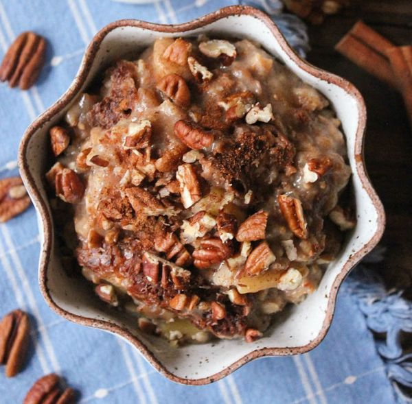 """<strong>Get the <a href=""""http://www.domesticate-me.com/slow-cooker-apple-pie-oatmeal/"""" target=""""_blank"""">Slow Cooker Apple Pie"""