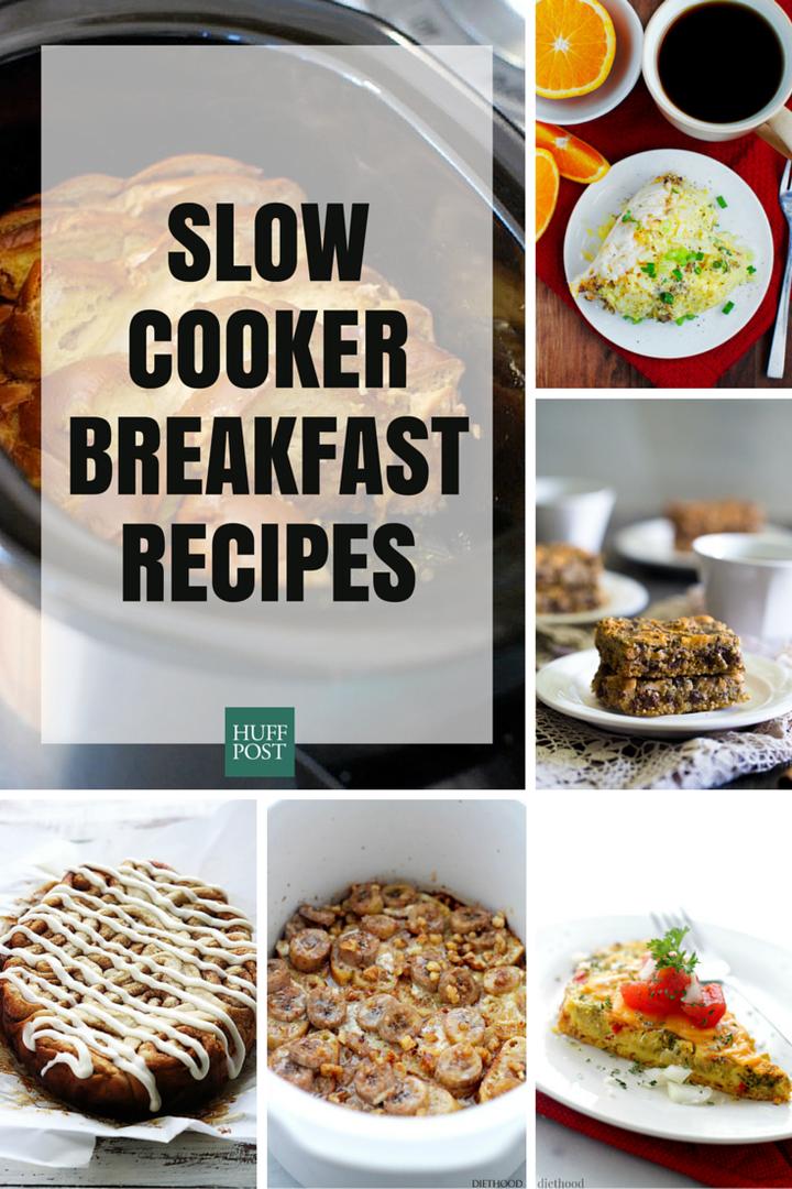 12 Breakfast Slow Cooker Recipes That Make Mornings Easier