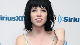 NEW YORK, NY - AUGUST 20:  Singer Carly Rae Jepsen visits the SiriusXM Studios on August 20, 2015 in New York City.  (Photo by Cindy Ord/Getty Images)