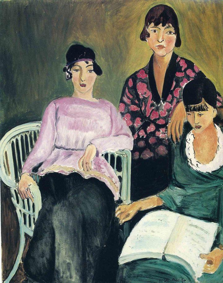 Henri Matisse, Three Sisters, 1917