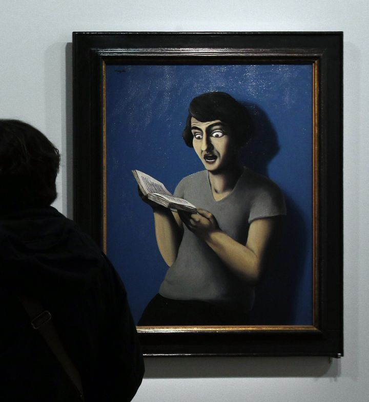 "Rene Magritte, ""The Subjugated Reader,"" 1928"