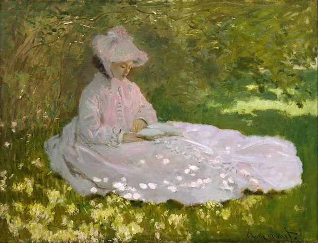 """<span class='image-component__caption' itemprop=""""caption"""">Claude Monet, """"Springtime,"""" 1872</span>"""