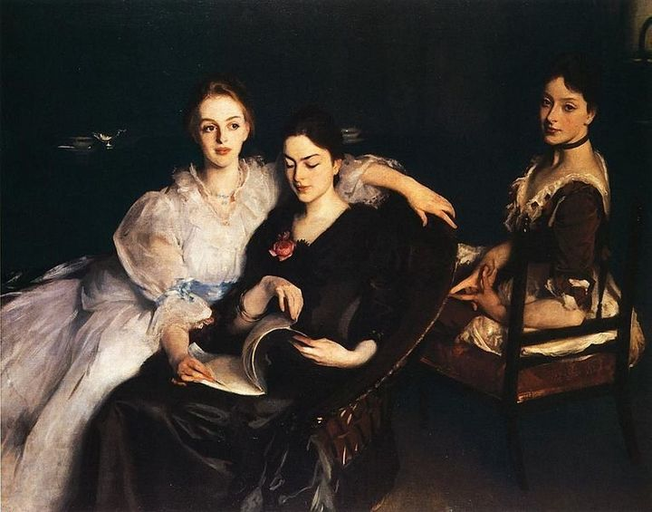 "John Singer Sargent, ""The Misses Vickers,"" 1884"