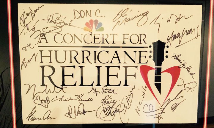 <p>A signed version of the telethon's key art.</p>