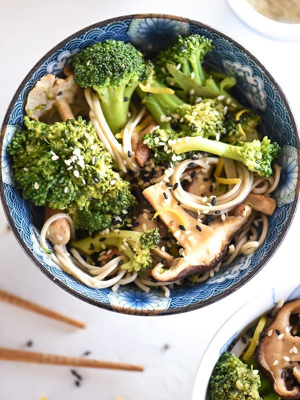 """<strong>Get the <a href=""""http://www.foodiecrush.com/2015/02/broccoli-and-shiitake-mushrooms/"""" target=""""_blank"""">Broccoli and Sh"""