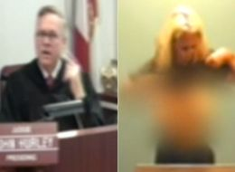 Porn Star Kayla Kupcakes Flashes Judge In Florida Courtroom