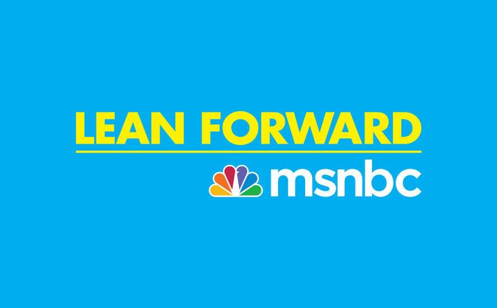 """The new on-air graphics include a bigger and bolder """"MSNBC."""""""