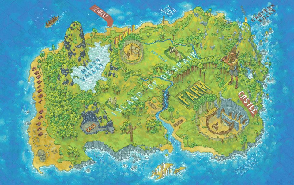 Get Lost In These Maps Of Fictional Literary Worlds Huffpost