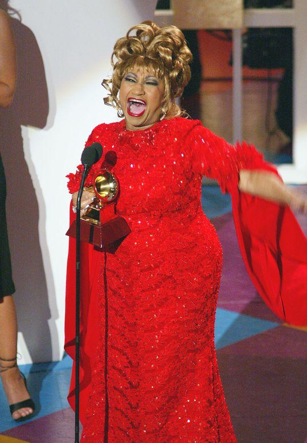 """Cuban singer Celia Cruz's real name was as legendary as her career. She was born <a href=""""http://www.buenamusica.com/celia-cr"""