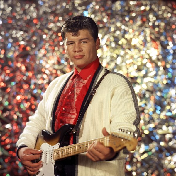 """This Mexican-American music legend was born <a href=""""http://www.biography.com/people/ritchie-valens-38193"""">RicardoEsteb"""