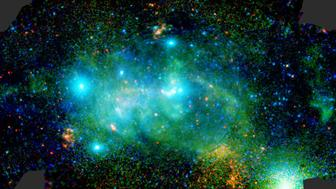 "<p><span style=""color: #031e31; font-family: verdana, arial; font-size: 12px; background-color: #ffffff;"">The central regions of our galaxy, the Milky Way, seen in x-rays by ESA&rsquo;s XMM-Newton X-ray observatory.</span></p>"