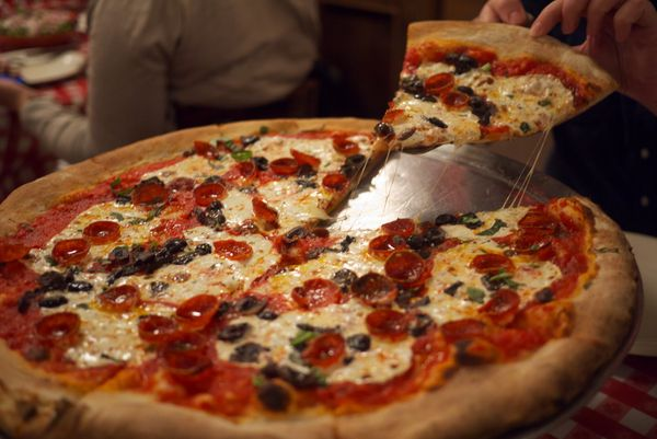 It's not that Lombardi's pizza is bad, per se, but there are so many better places to get pizza in New York. You're just sell