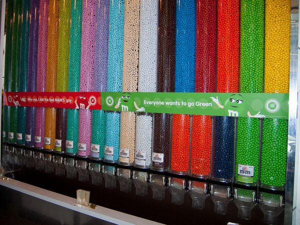 No New Yorker has EVER gone inside the M&M store, unless he or she works there. We're sure it's fun, but we've never been, so