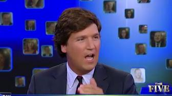 "<p>Tucker Carlson, ""The Five"" guest host and founder and editor-in-chief of The Daily Caller, says he loves the term ""illegal alien"" and that it's one of his ""favorite terms.""</p>"